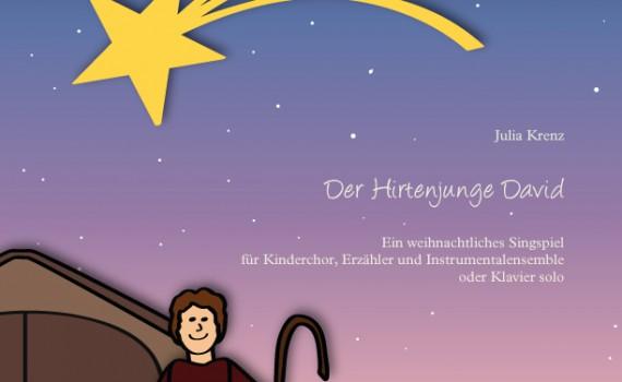 Der-Hirtenjunge-David_Partitur_Cover